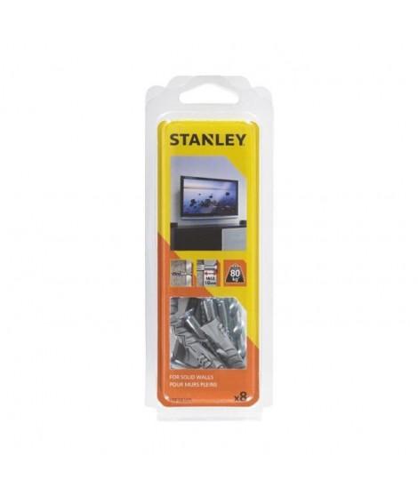 STANLEY Kit murs pleins pret a installer pour écran plat STF78105-XJ