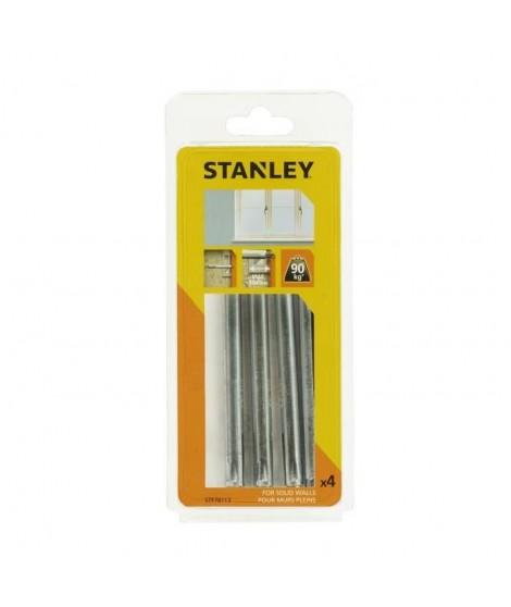 STANLEY Kit encadrement de 4 fixations pour fenetre STF78113-XJ