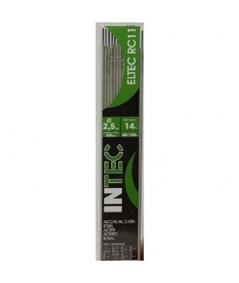INE Lot de 14 électrodes acier rutile Ø2,5 mm