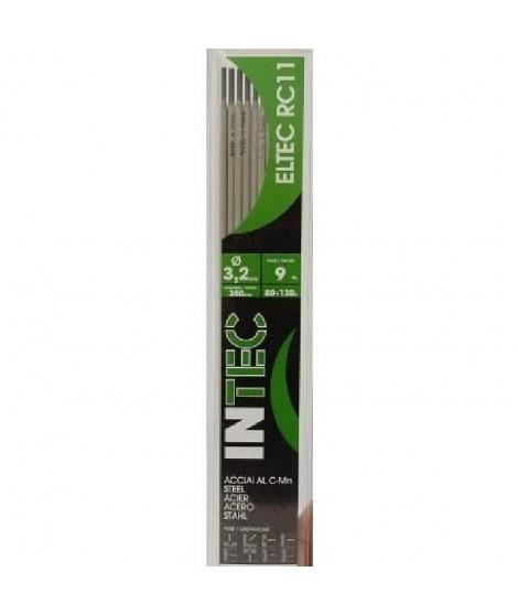 INE Lot de 9 électrodes acier rutile Ø3,2 mm