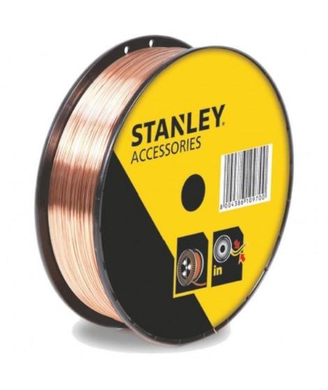 STANLEY 460618  Bobine fil acier pour soudure MIG/MAG sans gaz - Ø 0,8 mm - 0,9 kg