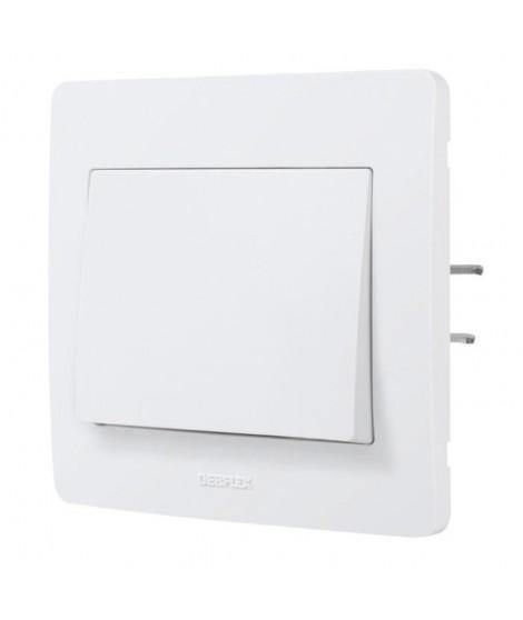 DEBFLEX DIAM2 Interrupteur va et vient blanc