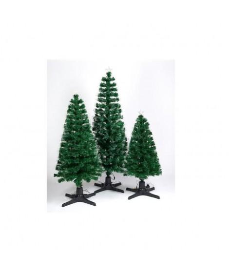 CHRISTMAS DREAM Sapin de Noël lumineux 130 LED blanc chaud 130 branches 120 cm vert