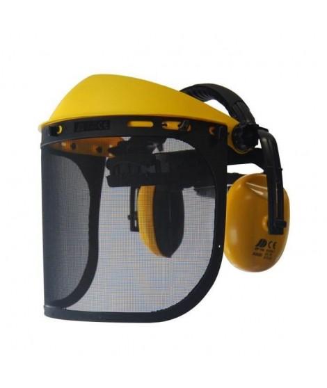 JARDIN PRATIQUE Visiere de protection - Écran grillagé extra large avec anti bruit