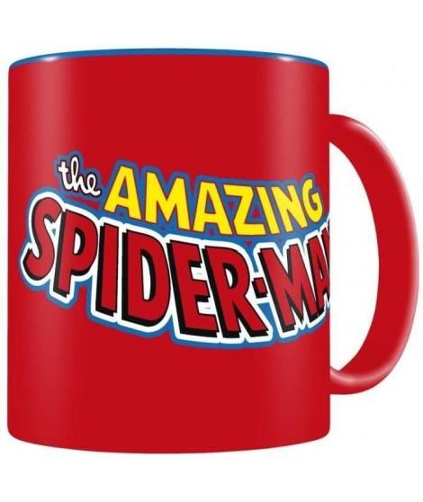 WTT MARVEL SPIDERMAN Mug - Classic Logo céramique bleu-rouge