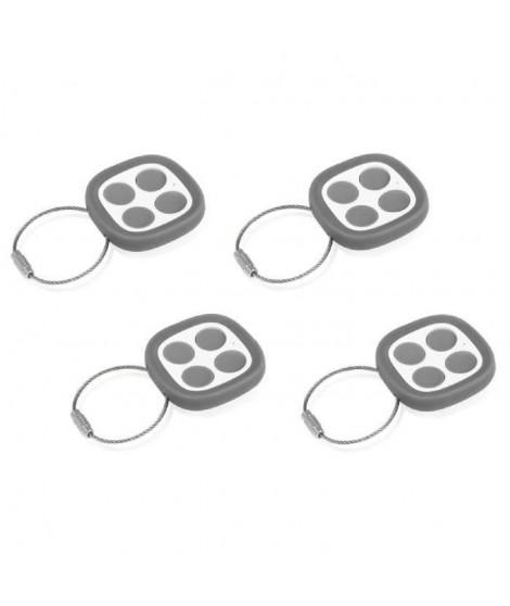 THOMSON Pack de 4 télécommandes universelles 500021 pour motorisation de portails et portes de garage