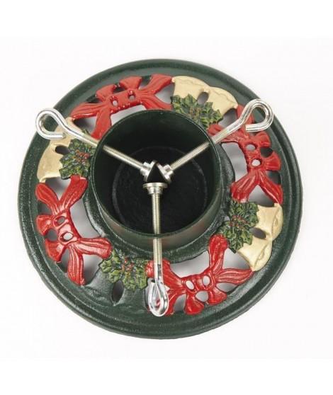 CHRISTMAS DREAM Pied de Sapin métal diametre 28 cm multicolore