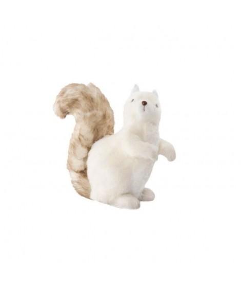 Figure Ecureuil doux en polyester 22x12x26 cm