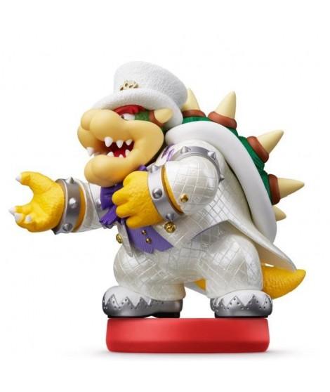 Figurine amiibo Super Mario - Bowser en tenue de mariage