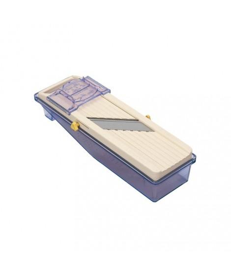 Mandoline japonaise avec bac récupérateur-râpe
