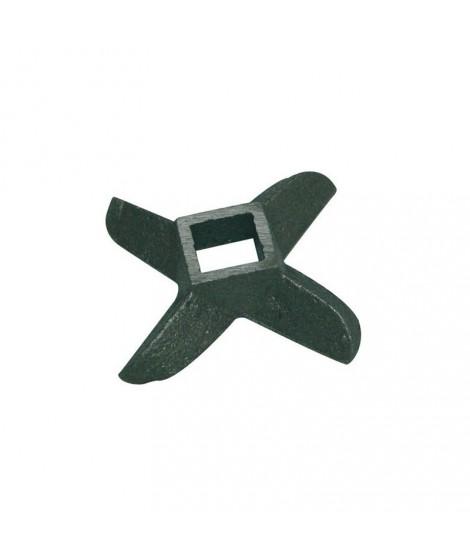 Couteau pour hachoir manuel- n°8 inox- Tellier