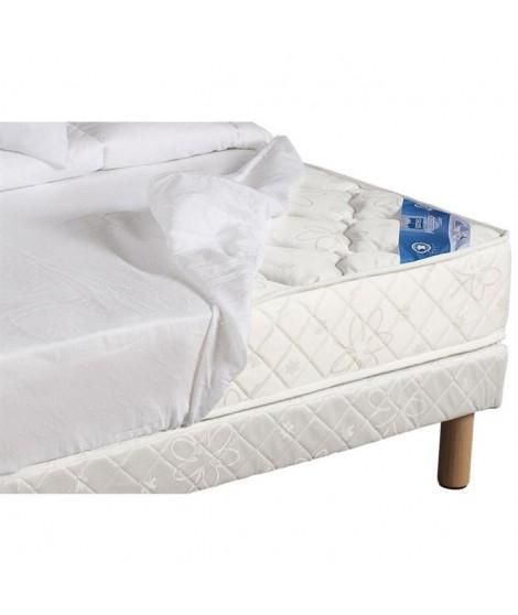 SWEETNIGHT Protege-matelas imperméable anti-acariens Noémie - 2 x 70 x 200 cm