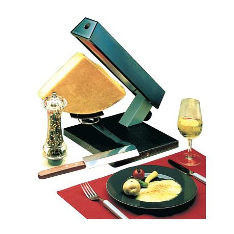 Appareil à raclette électrique 1/4 de meule de fromage, 230V