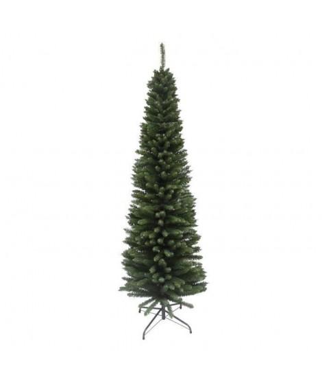 Sapin de Noël Luxe Cypres en PVC vert 180 cm