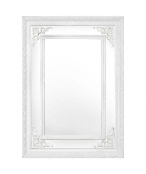 ARGYLE Miroir 50x70 cm - Blanc
