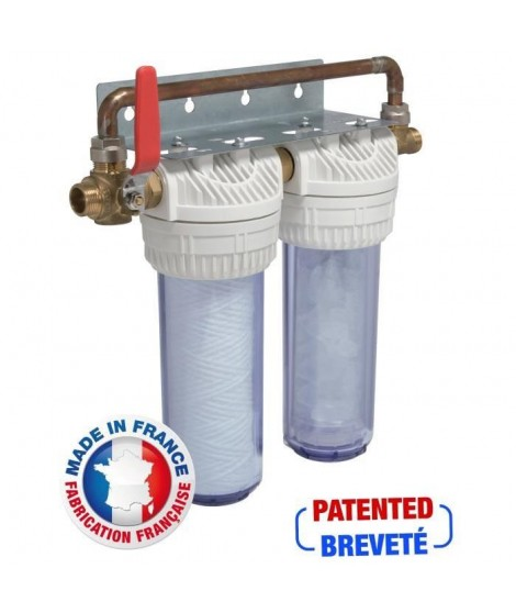 AQUAWATER Station de filtration anti-tartre haute performance 12 mois