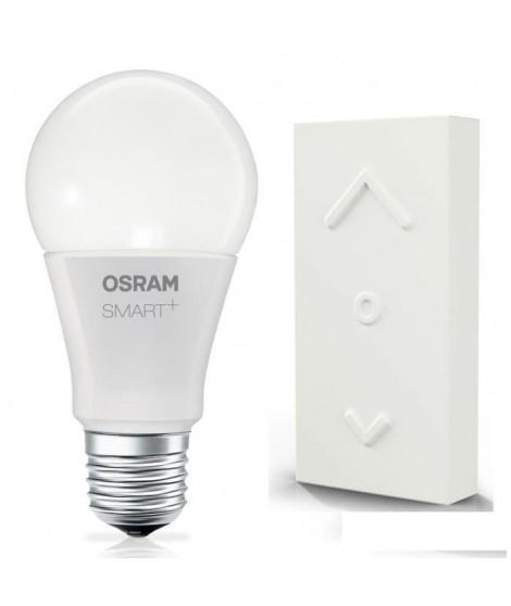 OSRAM SMART+ Kit Color Switch Mini avec ampoule connectée LED E27 couleur RGBW et télécommande