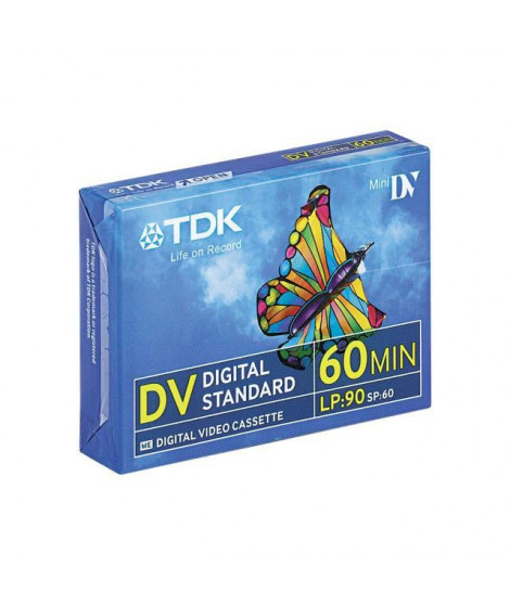 TDK Lot de 5 Mini cassette vidéo DVM 60ME - 5X60 min