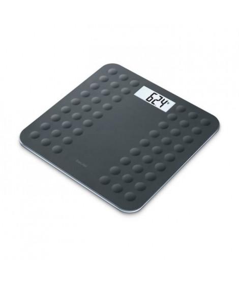 BEURER GS300 Pese-personne et impédancemetre avec surface en silicone antiglisse - Noir