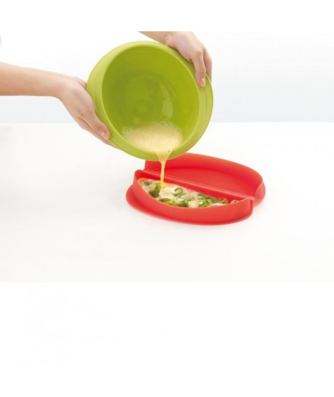 LEKUE Cuit-omelette en silicone