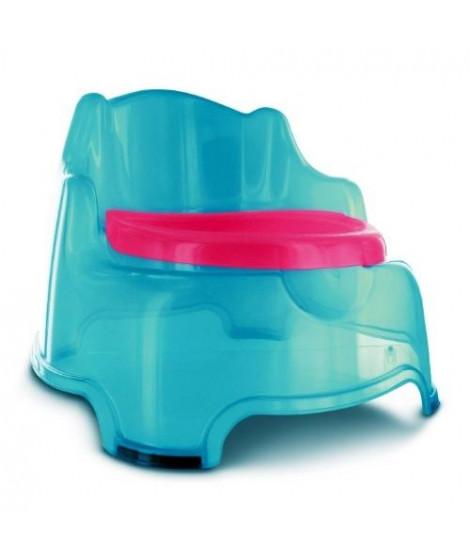 DBB REMOND Fauteuil Pot Bébé 3 en 1 avec Couvercle Turquoise Translucide