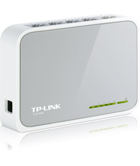 TP-Link Switch 5 PORTS 10/100 PLASTIQUE TL-SF1005D