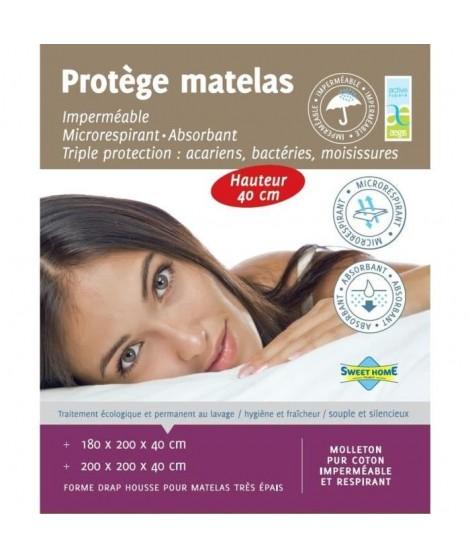 SWEET HOME Protege matelas SARA AEGIS 180x200