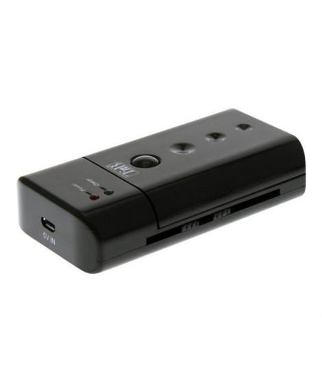 T'nB CHUB2 Chargeur universel de batteries + Câble de recharge USB/micro USB fourni - Noir