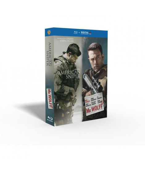 American Sniper + Mr Wolff - Coffret Blu-Ray