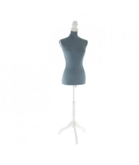 ITEM Buste de couture Polyester - 37x23x168cm - Bleu