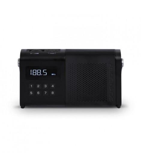 SCHNEIDER SC170ACLBLK Radio Tuner Digital Pll AM/FM Movimo - Noir