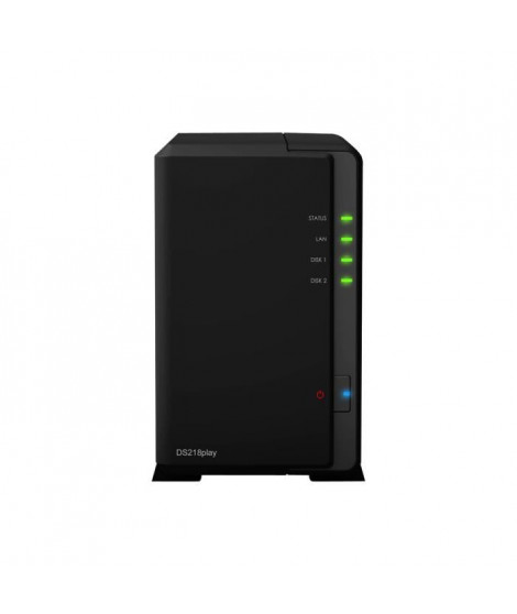SYNOLOGY Serveur NAS 2 baies DS218play