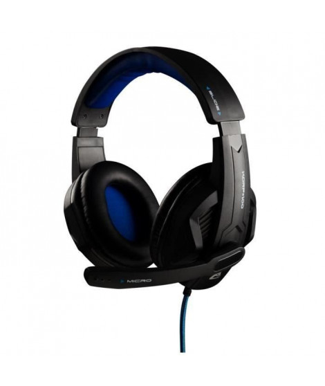 THE G-LAB Micro-Casque Gamer KORP100 Filaire - PC/MAC/PS4/XBox One/Mobile