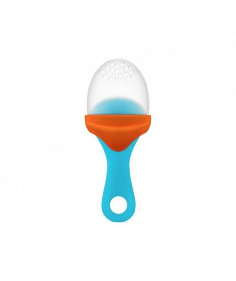 BOON Pulp Sucette avec compartiment - Bleu / Orange