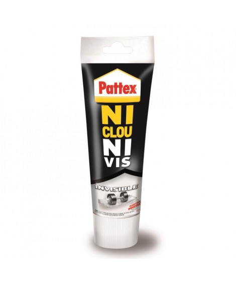 Ni clou ni vis chrono invisible Pattex - Tube 200g