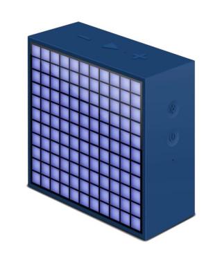 DIVOOM TIMEBOX MINI Radio réveil Son et Lumiere - Bleu