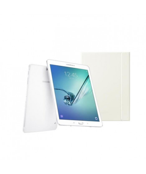 SAMSUNG Pack Galaxy Tab S2 - 9,7'' QXGA - RAM 3 Go - Android 6.0 - Octo Core - Stockage 32 Go + Book cover TAB S2 9,7'' offert
