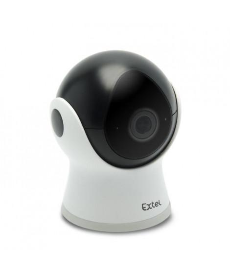 EXTEL Caméra de surveillance fixe IP WiFi Full HD Plug&Play avec détection de mouvement