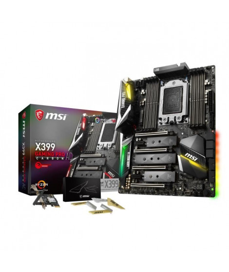 MSI Carte Mere X399 Gaming Pro Carbon AC