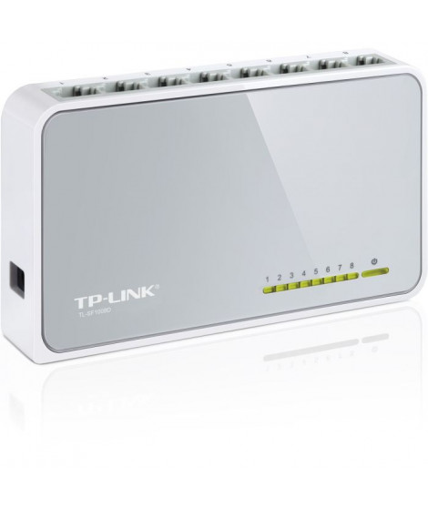 TP-Link Switch 8 PORTS 10/100 PLASTIQUE TL-SF1008D