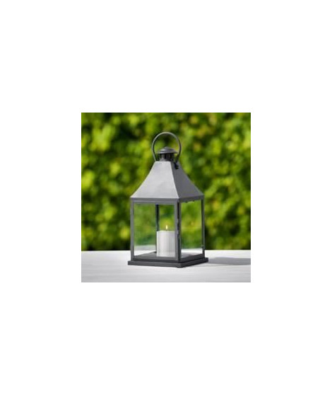 Lanterne Bilbao L20xL20xH40 - Noir