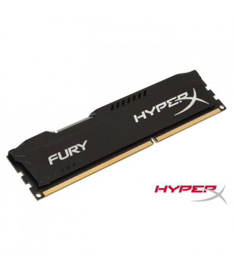 Kingston 4Go DDR3 1333MHz CL9 HyperX FURY Black
