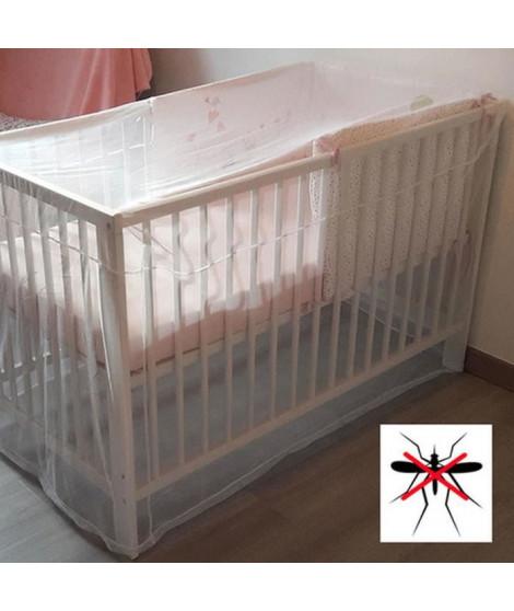 DBB REMOND Moustiquaire pour lit bébé - Blanc