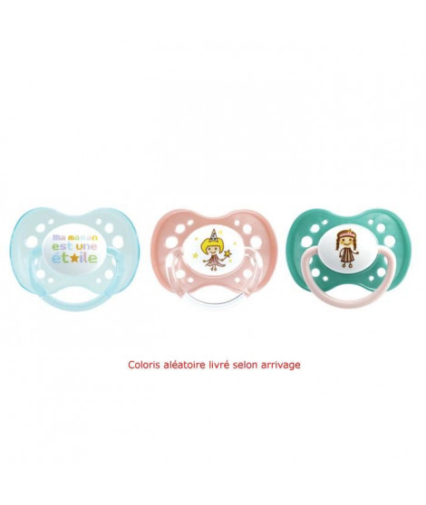 Dodie Sucette Anatomique Silicone +18 Mois N°37