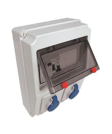 DEBFLEX Tableau électrique atelier étanche pré-câblé