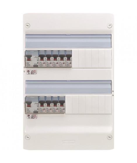 LEGRAND Tableau électrique équipé précâblé Essentiel spécial pour logement T3