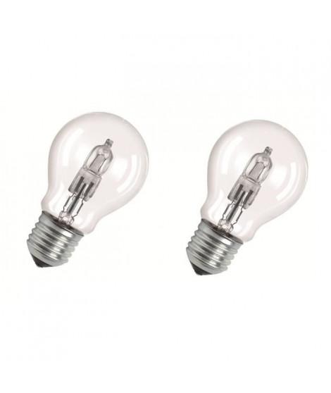 OSRAM Lot de 2 ampoules E27 halogene Classic SuperStar 77W équivalence 100W