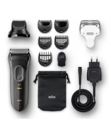 BRAUN Series3 Shave&Style 3000BT Rasoir électrique avec tondeuse a barbe