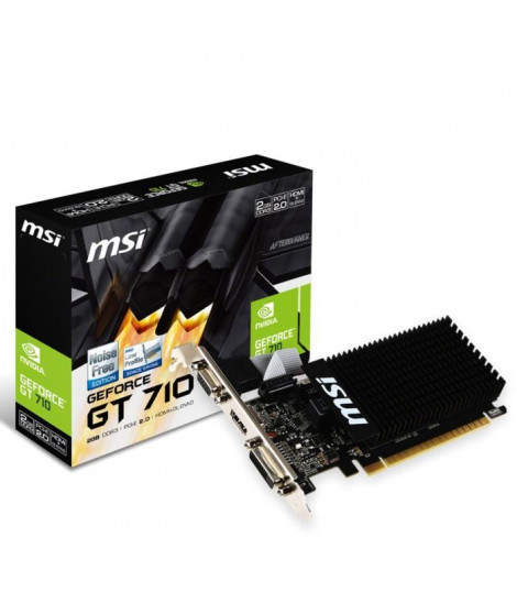 MSI Carte graphique GeForce GT 710 2Go DDR3