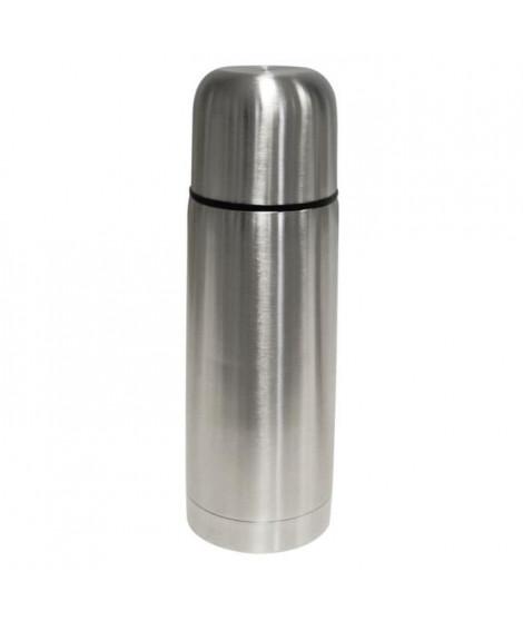 FINLANDEK Bouteille isotherme - Gourde thermos - Noir - Matieres inox et acier inoxydable - 0,5L